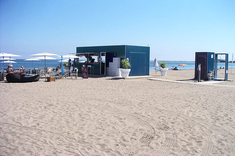Strandbar in Las Marinas