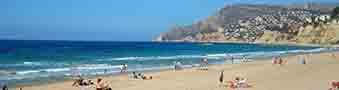 Holiday homes in Calpe