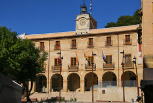 The townhall of Denia