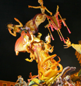 Fallas in Denia