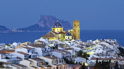 Altea casco antiguo