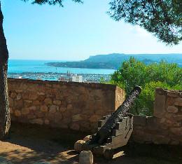 Aussicht von der Burg in Denia