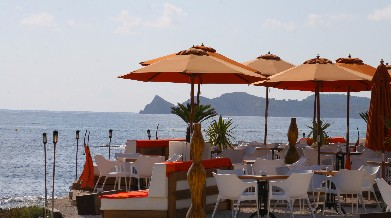 Beach bar in Javea