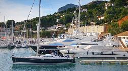 Yacht harbour Javea