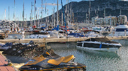 Yacht harbour Moraira