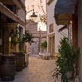 Street in the old town of Javea