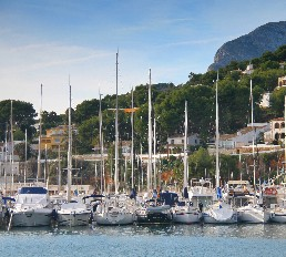 The port of Javea