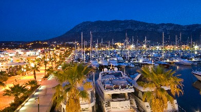 The harbour of Denia