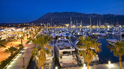 Marina de Denia, leisure and boat