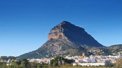 Javea and the Montgo mountain