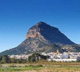 Berg Montgo Ansicht
