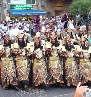 Moros y cristianos en Javea